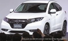 Honda Vezel urban SUV kei car launch on 20th December 2013, petrol and hybrid for Japan Read more at http://www.rushlane.com/honda-vezel-urban-suv-launch-1296875.html#wtvLhm0IE5gg7gSA.99