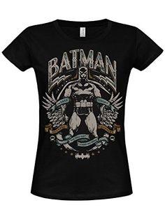 Batman Dark Knight Crusader Mujeres camiseta de (Black) negro Small #camiseta #realidadaumentada #ideas #regalo