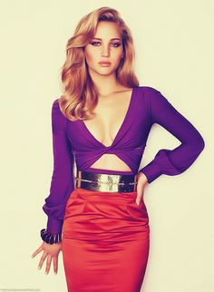 Jennifer Lawrence. love her.
