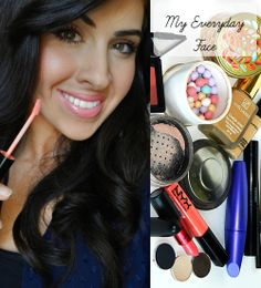 MUST READ! In this post, she walks through how to apply makeup, highlight and contour your face, and have a natural and gorgeous look! She also tells all the brushes and brands she uses. So awesome and informative. Makeup Blog, Love Makeup, Makeup Tips, Daily Makeup, Everyday Makeup, Gorgeous Makeup, Makeup Geek, Makeup Tutorials, Beauty Make-up