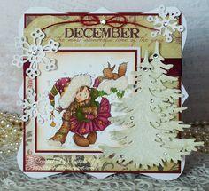 The Stamp Basket: La La Land Crafts - Christmas Tree