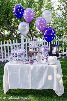 http://www.pinterest.com/lcuarezma/fiesta-princesa-sofia/  Start at Home: Sofia the First Birthday Party