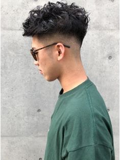 Hair men fade barbers ideas - All About Hairstyles Asian Haircut, Asian Men Hairstyle, Fade Haircut, Hairstyle Short, Mens Hairstyles Fade, Undercut Hairstyles, Haircuts For Men, Perm Hair Men, Curly Hair Men