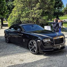 Inspired by @luxurylife.co World's first Bespoke Rolls Royce Dawn revealed today in Ville d'Este Lake COMO #Italy! - @leyton.clarke by luxurylifecompany