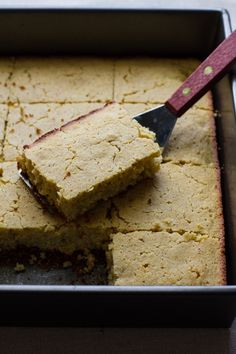 Orange Honey Corn Cake   Edible Perspective