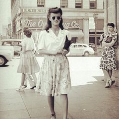 Image result for 40s fashion