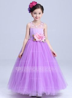 ede230585c New Wedding Party Purple Formal Flowers Girl Dress Baby Pageant Dresses  Birthday Cummunion Toddler Kids evening gowns Custom - Baby clothes