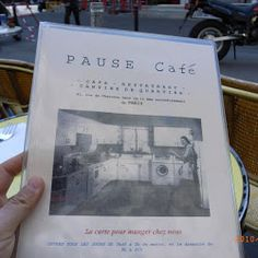 Paris: Pause Cafe