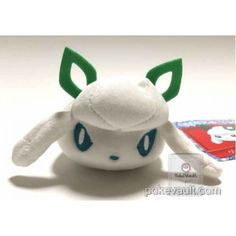 Pokemon Center Sapporo 2016 Renewal Opening Snow Festival Campaign Glaceon Mochi Snow Rabbit Mini Mascot Plush Toy