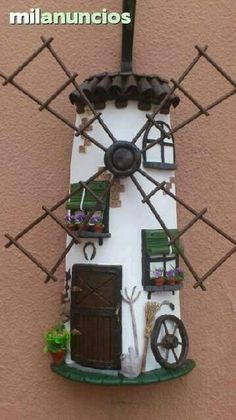 Clay Houses, Ceramic Houses, Miniature Houses, Miniature Dolls, Tile Crafts, Clay Crafts, Diy And Crafts, Vitrine Miniature, Clay Tiles