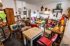 Vintage-Möbel in Düsseldorf: Die kaufbar #vintage #shop #homestory #retro #interior