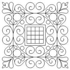 474 Scroll Pattern Set