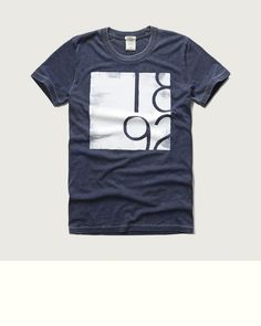 Mens - Graphic Crew Tee | Mens - Sale | eu.Abercrombie.com