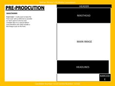 Media – Music Magazine – Pre Production – Layout Template | Layout ...