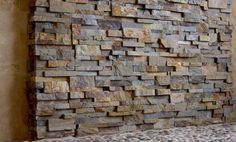 Natural Stone Shower Panels | Stacked Stone Veneer Shower Walls | Norstone USA