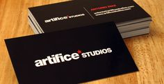 100 Refreshing Black & White Business Cards | Inspirationfeed