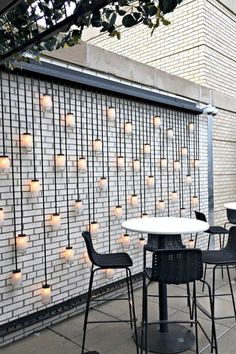 48 Most Beautiful Outdoor Lighting Ideas to Inspire You - GODIYGO.COM terracede Most Beautiful Outdoor Lighting Ideas to Inspire You - GODIYGO.COM terracedesign Outdoor lighting can create a good difference to your house, and Backyard Patio, Backyard Landscaping, Landscaping Ideas, Backyard Privacy, Terrasse Design, Open House Plans, Contemporary Decor, Contemporary Architecture, Farmhouse Contemporary