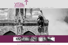Vital Access. High Rope Access Company - Website design by Studio Spence