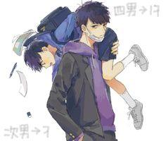 毎日空腹 Osomatsu San Doujinshi, Dark Anime Guys, Comedy Anime, Ichimatsu, Cute Disney Wallpaper, South Park, Yandere, Anime Characters, Anime Art