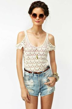 Crochet Away Top | Shop What's New at Nasty Gal
