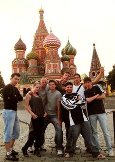 Face Team in Moscow