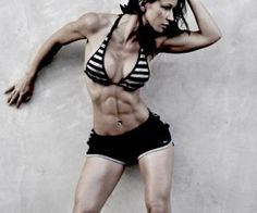 Woman With Enviable Abs