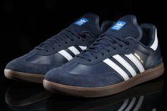 new arrival 43367 c853d Adidas Hamburg Mineral Blue Leather  Gum Sole Mens 11 NEW samba spezial  trimm