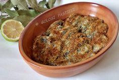 sarde gratinate, ricche di omega-3 e di profumi mediterranei. Le sarde gratinate sono molto semplici da preparare, bastano pochi ingredienti e il risultato