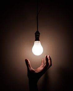 Reach within yourself for your idea. You have the power to be great within you. Teaching Chemistry, White Light Bulbs, Motivational Stories, Hand Photo, Moral Stories, Interactive Learning, Inspire Others, Bristol, Stock Photos