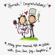 Funny Wedding Wishes Short
