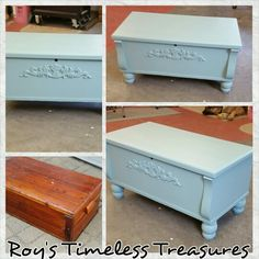 Charmant Cedar Chest Turned Into Coffee Table