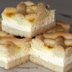 Hungarian Recipes, Creative Cakes, Winter Food, Cakes And More, Cake Recipes, French Toast, Cheesecake, Sweets, Baking
