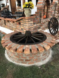 Brick garden - An ecofriendly roof has lots of benefits at monetary, habitat and political level Roofdesign Brick Design, Roof Design, Outdoor Landscaping, Outdoor Gardens, Outdoor Decor, Rooftop Gardens, Brick Garden, Garden Paths, Yard Design