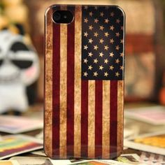 Vintage US American Flag Hard Plastic Case For iPhone 4/4S - Halloween Gift  #Halloween Inspiration from #Amazon | #Inspiration http://www.webdesign.org/halloween-inspiration-from-amazon.22346.html