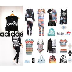 ADIDAS LOVE by madelen-reinholdtsen on Polyvore featuring adidas Originals and adidas