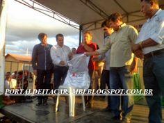 PORTAL DE ITACARAMBI: PREFEITURA ENTREGA CASAS POPULARES COM A PARTICIPA...