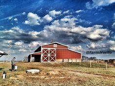 barn at easter #farm #landscape