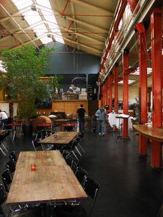 Restaurant eo Ipso, located in the Gundeldinger Feld in Basel