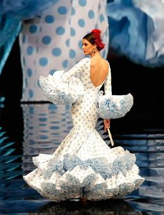 "[gallery link=""none"" size=""full"" Flamenco Costume, Flamenco Dancers, Dance Dresses, Cute Dresses, Girls Dresses, Flamenco Dresses, Demna Gvasalia Vetements, Full Gown, Gypsy Women"