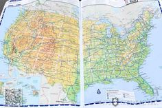 Bring a Road Atlas - Your phone or GPS will die or not work at least once on the trip! Road Trip Food, Family Road Trips, Road Trip Hacks, Road Trip Usa, Usa Roadtrip, Rv Travel, Canada Travel, Family Travel, Travel Tips
