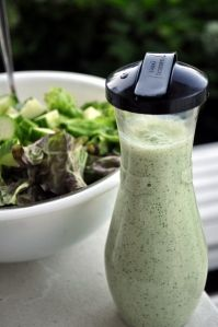 ... Cobb Salad & any other salad! creamy cilantro tomatillo dressing