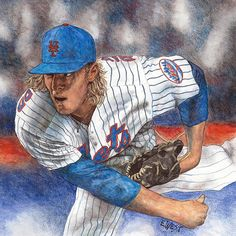 Ny Mets, New York Mets, How Soon Is Now, Diamonds In The Sky, Baseball Art, Sports Art, Illustrators, Illustrator, Illustrations
