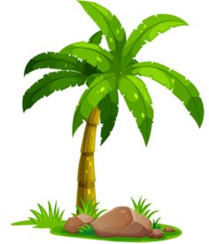 Palm Tree Clip Art, Palm Tree Drawing, Tree Art, Trees To Plant, Plant Leaves, Window Glass Design, Palm Tree Pictures, Trees Top View, Cartoon Trees