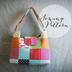 Upon checkout you will instantly be able to download this pattern! No more waiting! Mabel Messenger PDF Sewing Pattern    Pattern includes