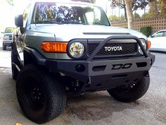 FJ Cruiser Parts Accessories: Demello FJ ALUMINUM Front Single Hoop Bumper 2007-14