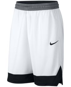 Nike Men s Dri-fit Colorblocked Basketball Shorts - White 2XL Athletic  Outfits 8528b8980