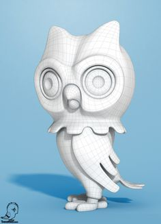 Owl City, Shroomzee and the Woody Mecha by Teodoru Badiu, via Behance