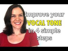 Four simple tricks to improve your vocal tone and start singing better even if you& just starting out. Vocal Lessons, Singing Lessons, Singing Tips, Music Lessons, Learn Singing, Art Lessons, Singing Exercises, Vocal Exercises, Vocal Training