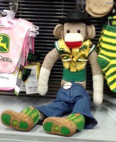 John Deere monkey @ the Ft Worth Rodeo