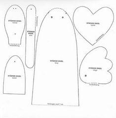 PATTERNS FOR ANGEL: EVA OR FELT